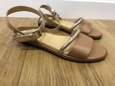 Gorgeous Women's GEOX Strappy Leather Sandals UK 8 41 Worn Once