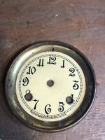 Vintage New Haven Mantle CLOCK Face & Bezel