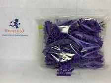 (Kj) Knex Purple 4 Position Standard 3D Connectors K'nex Parts Pieces Lot of 115