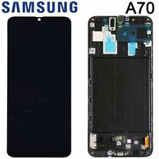 For Samsung Galaxy A70 2019 A705 OLED LCD Display Touch Screen Digitizer Frame