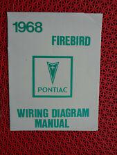 1968 Pontiac Firebird Wiring Diagram Manual