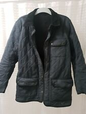 Barbour Barnes Polarquilt Mens Medium Fleece Lined Quilted Jacket