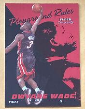 2003-04 Fleer Tradition #5 Playground Rules Dwyane Wade $4/10