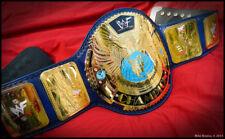 WWF BIG Eagle Championship Belt 24k Premium 4mm Metal Heavyweight Replica WF