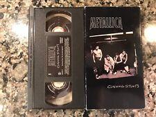 Metallica Cunning Stunts Vhs! Megadeth Slayer Exodus AC/DC Moterhead Kiss