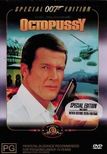 007 - Octopussy DVD (Pal, 2001) - FREE POST