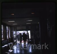 1969 amateur Kodachrome photo slide King of Norway at airport #1