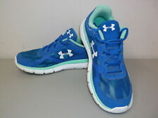 Under Armour Women's Shoes Size 8.5 Micro G Velocity Graphite I Will Run Strong