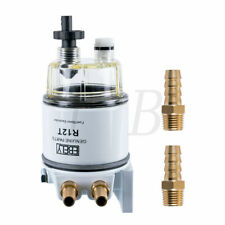R12T Fuel Filter Water Separator 120AT With Fuel Fitting for Boat Marine Spin-on