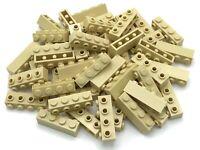 LEGO Lot of 4 Yellow 2x2x3 1//3 Octagonal Side Stud Bricks