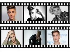 Justin Bieber Film Roll A4 Icing Sheet Edible Cake Topper / Cake Border