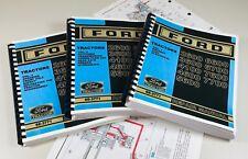 Ford 6600 6700 7600 7700 Tractor Service Repair Manual (COLOR Schematics)