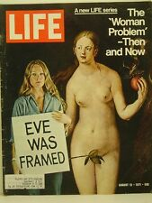 1971 Life Magazine: The 'Woman Problem' Then and Now/Eve Was Framed