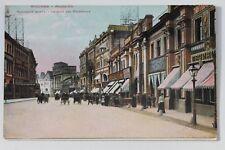 29856 AK Moskau Moscow Moscou Straße mit Geschäften 1912