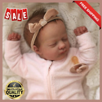 17' Ashley DIY Reborn Baby Doll Kit Lifelike Vinyl Unpainted Unfinished Toy Gift