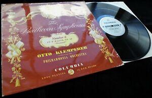 Beethoven: Symphony No. 6 - Otto Klemperer **Columbia SAX 2260 ED1 LP**