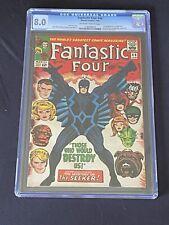 Fantastic Four #46 CGC 8.0 1st appearance of Black Bolt (Marvel 1966)