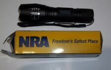 NRA Issued Special Opt Zoom Tactical Flashlight NEW