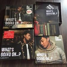 陈奕迅 Eason chen What's Going On...? 2cd+1DVD 大马版 马来西亚 Malaysia press 绝版