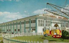 Vintage Postcard - The Beautiful Alhambra Ballroom - Cresent Park - Riverside Ri