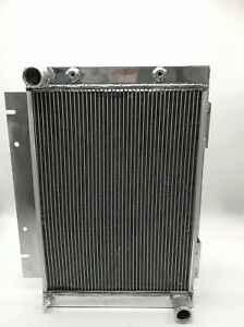 Aluminum Radiator For Ford Galaxie 500Xl L6 V8 Mt/At 2-Row 1960 -1963 1961 1962