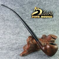 "BALANDIS "" CLARHER "" BUREN - BRIAR Churchwarden LONG TOBACCO smoking pipe LOTR"