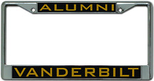 Vanderbilt University ALUMNI License Plate Frame