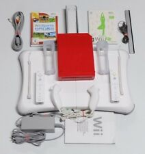 Nintendo Wii Konsole Wii Fit Pack & Wii Sports mit 2x Remote & 2x Nunchuck