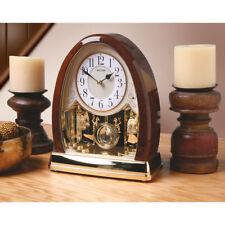 Joyful Bells Musical Clock Plays Hymns & Christmas Carols - Pendulum Mantle Desk