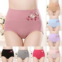 Women Stretch Briefs High Waist Body Shaper Control Waist Panties Underwear