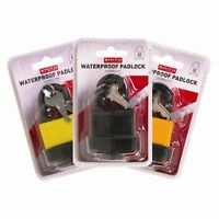 NEW 40mm WATERPROOF PADLOCK HEAVY DUTY WITH 2 KEYS SAFETY  SECURITY FOR OUTDOOR