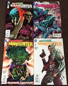 Martian Manhunter #1,2,3,4  DC Lot Complete Set Nm Justice League JLA