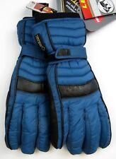 NEW $120 Leki Womens Corvara Goatskin Leather Trigger S Goretex Ski Gloves Blue
