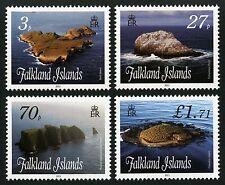 Falkland 2011 Inseln II Felsen Klippen Küste Islands Rocks Coast 1138-41 ** MNH
