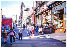 New Post Card: 1952 10th Avenue, north to W44th St New York City Nyc Street Kids