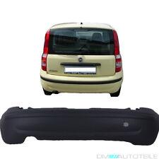 Fiat Panda 169 2003-2012 Stoßstange hinten Schwarz mit Zierleiste EU-QUALITÄT