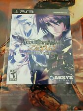 Record of Agarest War Zero Limited Edition (Sony PlayStation 3, 2011) New Sealed
