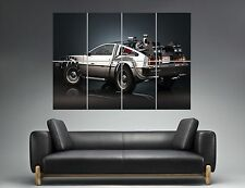 RETOUR VERS LE FUTUR DELOREAN 03 BACK TO THE FUTURE Wall Poster Grand format A0