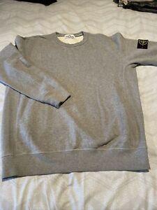 Stone Island XL Grey Sweatshirt