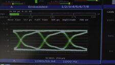 Harris Videotek VTM-4100 PKG-E Waveform Monitor Opt 10 SD/HD OPT-JEM A3-OPT-2