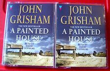 John Grisham A Painted House 3-Tape Audio Book David Lansbury Thriller