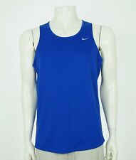 Nike Dri-Fit Miler Singlet Running Training Tank Top Shirt Mens Large