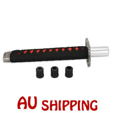"7.8"" Shift Knob Samurai Sword Racing Gear JDM Shifter Katana Metal Black+red New"