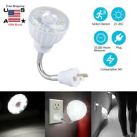Plug-In 23LED Motion Night Light Bedroom Garage Hallway Kitchen Stairs Wall Lamp