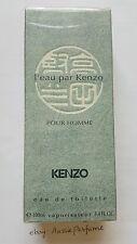 L'eau Par Kenzo Pour Homme (Original Formula) 100ml EDT Spray Mens Perfume RARE