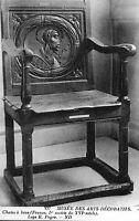 CPA Musée des Arts Décoratifs - Chaise à Bras (Epoque XVIe)