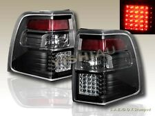 07 08 09 10 11 FORD EXPEDITION XLT EL LIMITED LED TAIL LIGHTS BLACK LEFT + RIGHT