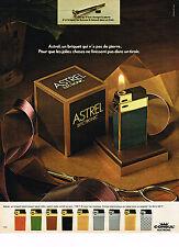 PUBLICITE ADVERTISING 054   1973  ASTREL ELECTRONIC   briquet CONSUL