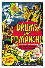 Drums of Fu Manchu - Classic Cliffhanger Movie Serial DVD Henry Brandon