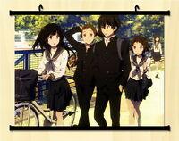 Hyouka Chitanda Eru Home Decor Japanese Poster Wall Scroll Anime Art XE01